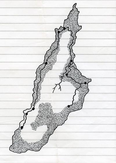 Een niet nader gespecificeerd eiland van t'Isselant Rik
