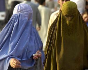 Burqa (of Chadri): gaas