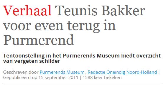 Oneindig Noord Holland
