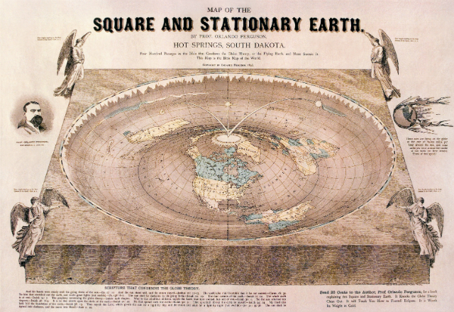 Square and Stationary Earth