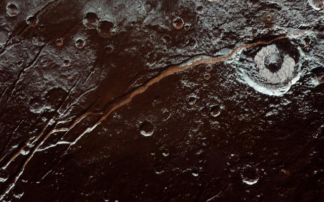 Pluto extreme closeup