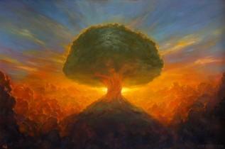Noah Bradley - Tree