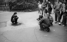 Tom Waits by Robert Frank
